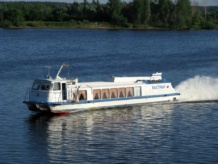 Речной транспорт в СССР был очень популярен. /Фото: motorka.org.