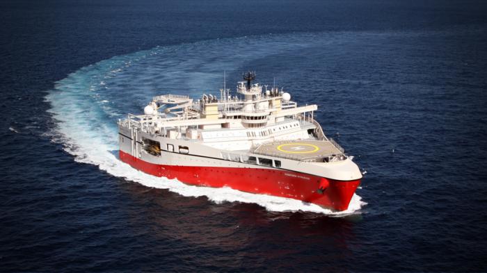 Конструкция судна Ramform Hyperion – квинтэссенция современных технологий. /Фото: pgs.com
